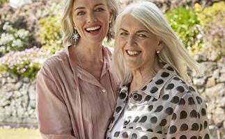 Petra Bagust and mum Judi