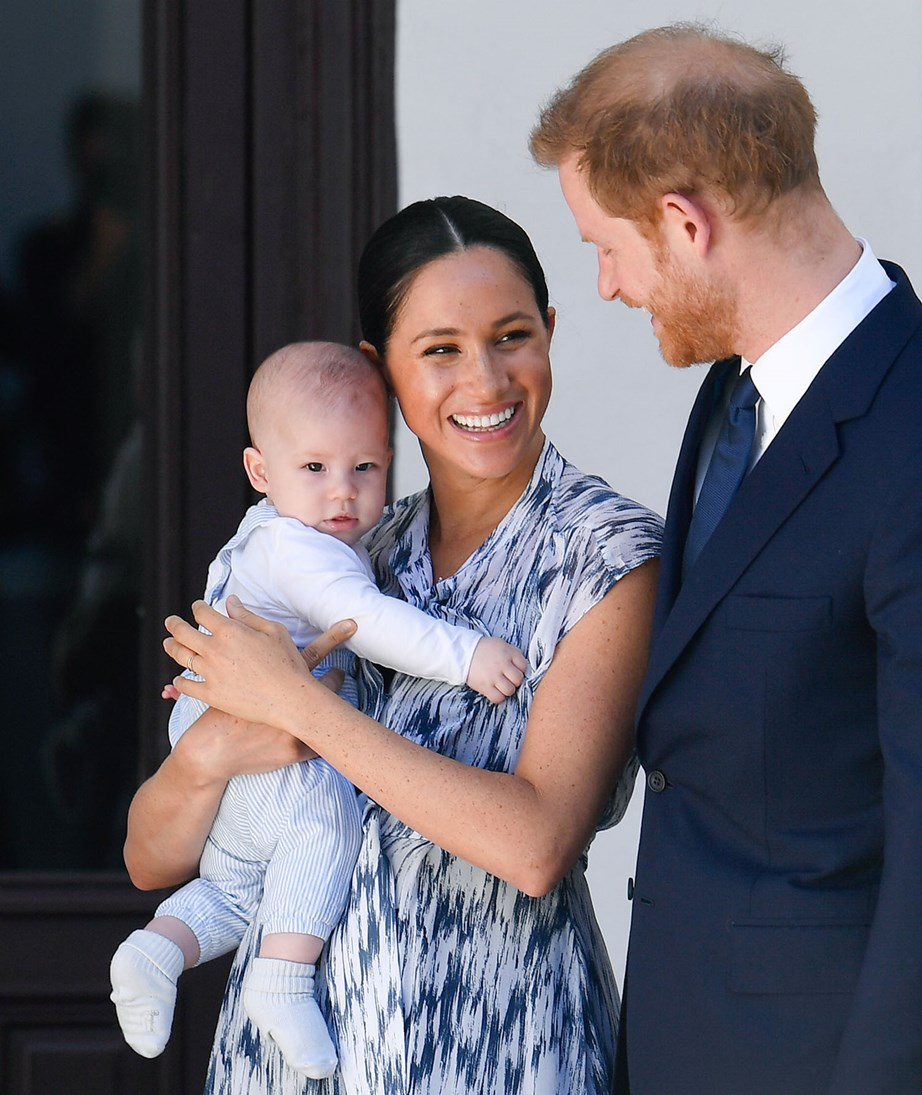 Earlier this month the Sussexes dropped a royal bombshell when they revealed they were stepping back as senior members of the royal family. *(Image: Getty)*