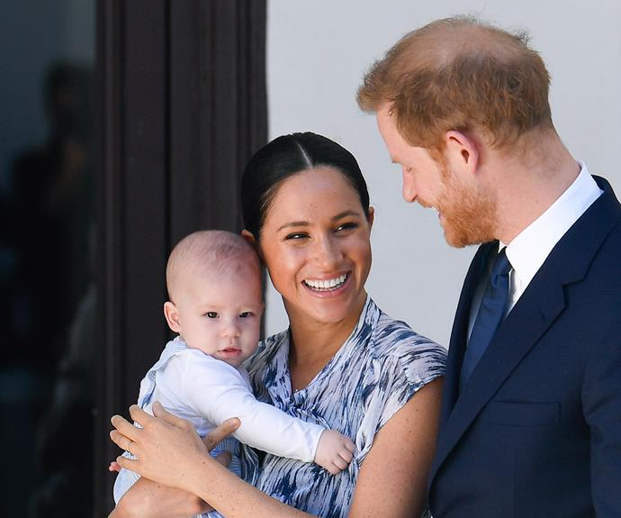 archie meghan harry