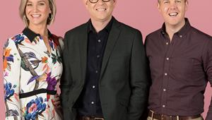 John Campbell gets objectified by Matty McLean on Breakfast and loves it