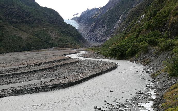 Franz Joseph Glacier. *Photo courtesy of DoC*