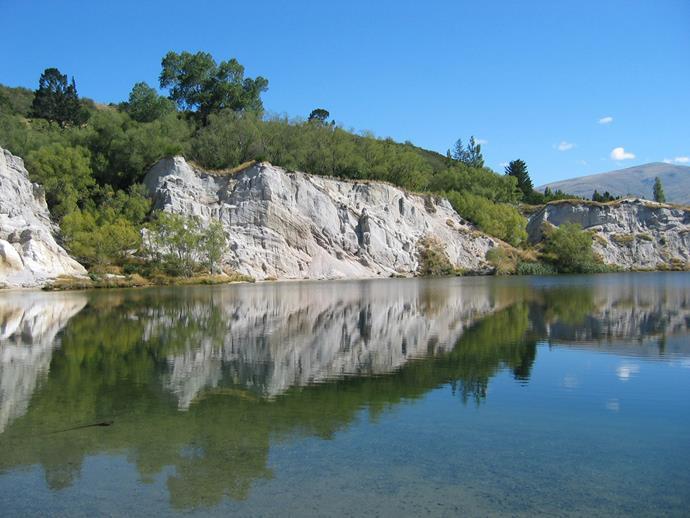 Blue Lake Otago. *Photo courtesy of DoC*