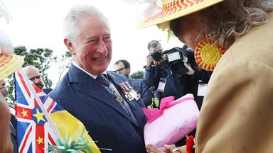 Prince Charles and Duchess Camilla begin their royal tour of New Zealand