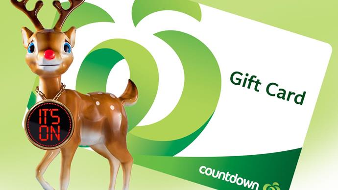Win one of five $100 Countdown vouchers