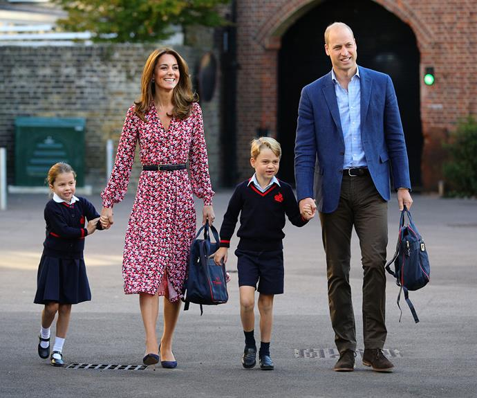 The Cambridges reveal how their children reacted after hearing where they were going for their date night
