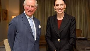 Prime Minister Jacinda Ardern and opposition party leader Simon Bridges reveal the gifts they gave Prince Charles