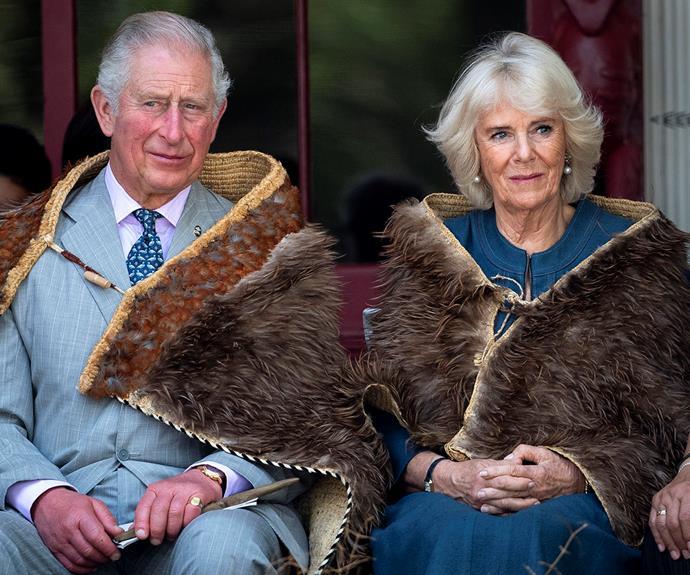 prince charles and duchess camilla waitangi