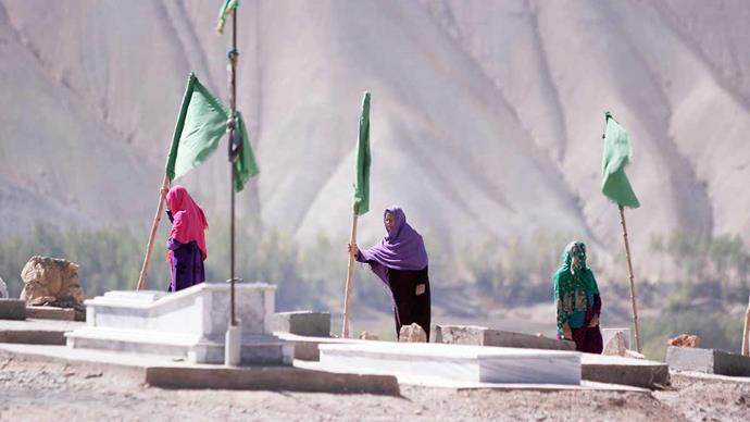 The sight of these mothers mourning their children at the cemetery brought Paula to tears.