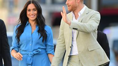 Duchess Meghan and Prince Harry thank fans for their 'amazing surprise'