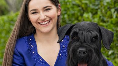 Young Kiwi's passion for showing dogs takes her to England to represent Aotearoa