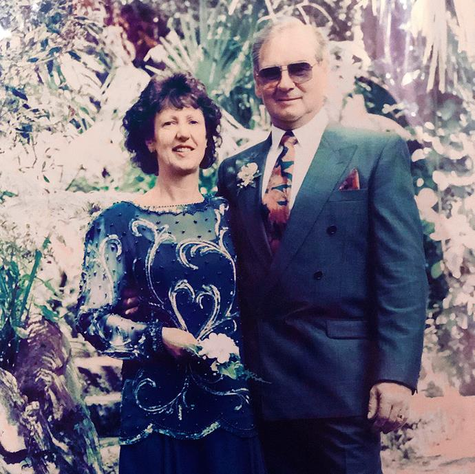 As long as they both shall live! Kathryn and Bruce wed in October 1993 (pictured). They renewed their vows in 2016.