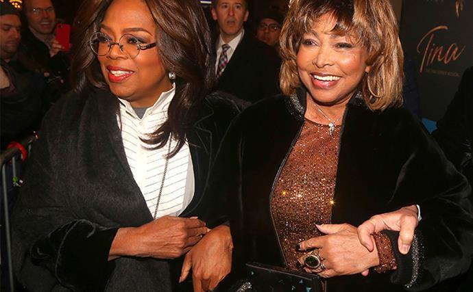Tina Turner Oprah Winfrey