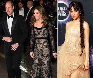prince william kate middleton camila cabello