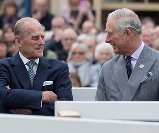 prince philip and prince charles