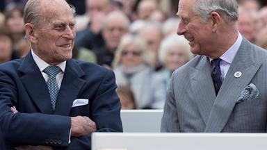 Prince Charles visits Prince Philip amid reports he's preparing for a role as 'Shadow King'