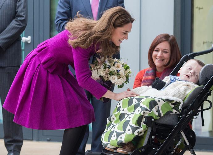 Kate has made early childhood development and children's mental health key focuses in her royal work. *(Image: Getty)*