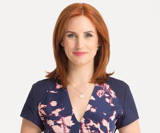 New mum Samantha Hayes all set to 'muddle' her way through back at work