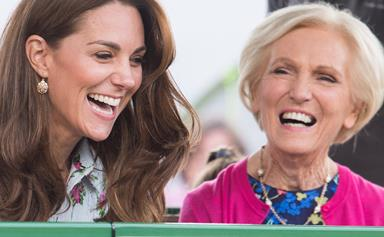 Duchess Catherine and Prince William team up with cookery icon Mary Berry for a Christmas TV special
