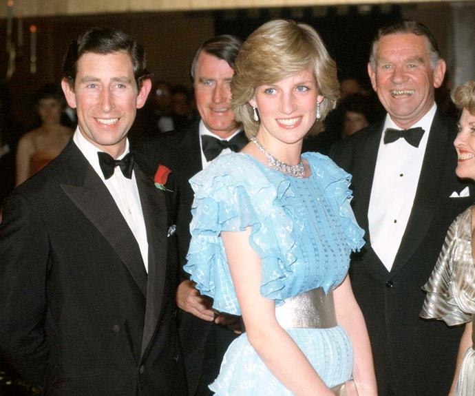 Princess Diana frocks from the 80s