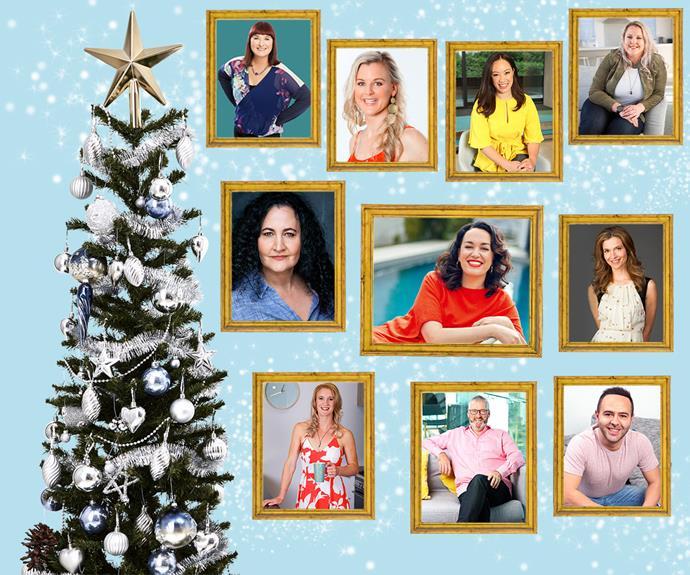 Kiwi celebrities celebrating Christmas