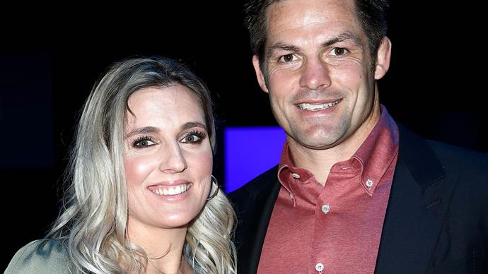 Gemma and Richie McCaw celebrate Charlotte's first birthday