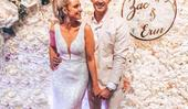 Erin Simpson and Zac Franich have shared their wedding video and it's absolutely gorgeous