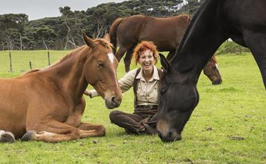 Meet the horse whisperer who helps people heal with the aid of horses