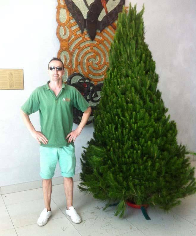 Rewardhub founder and director Michael Fuyala - the idea for the shopping portal all began with Christmas trees.