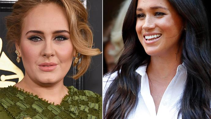adele and meghan markle