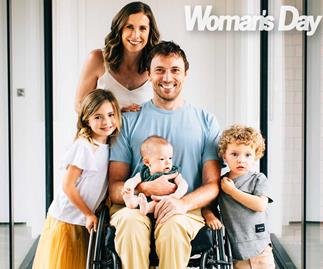 nick stanley paraplegic family newborn son