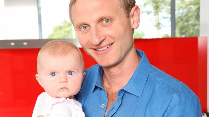 Hamish Bond baby Phoebe