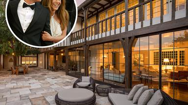 Brad Pitt and Jennifer Aniston's marital home is for sale for $66 million: Take a tour inside