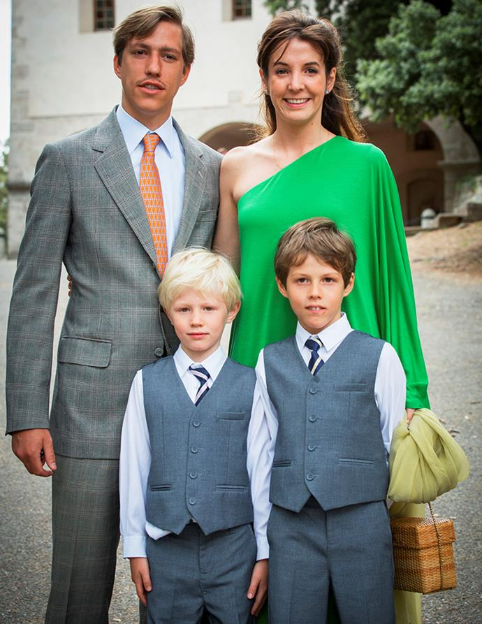 Tessy and her ex-husband met as teenagers and had two children, Prince Gabriel and Prince Noah.