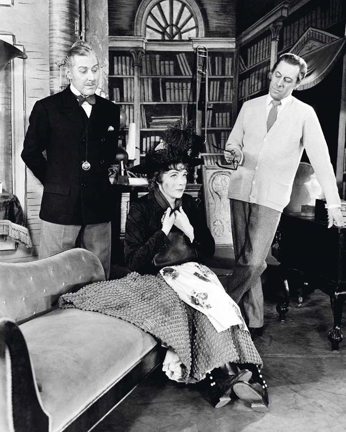 Julie with Rex Harrison and Reid Shelton in *My Fair Lady*.