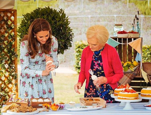 Duchess Catherine opened up to Mary Berry about life at university and shared cute tidbits about the Cambridge children. *(Image: Matt Porteous via @KensingtonRoyal)*