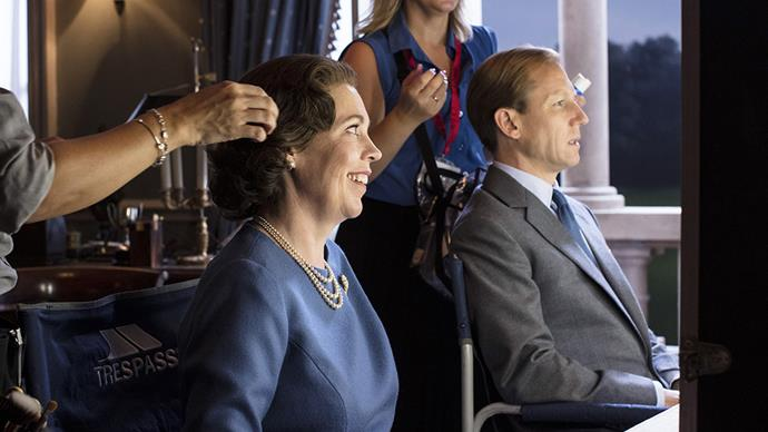 Olivia Colman Tobias Menzies The Crown