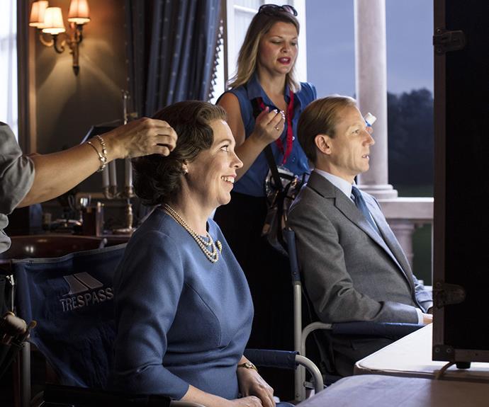 Olivia Colman Tobias Menzies The Crown