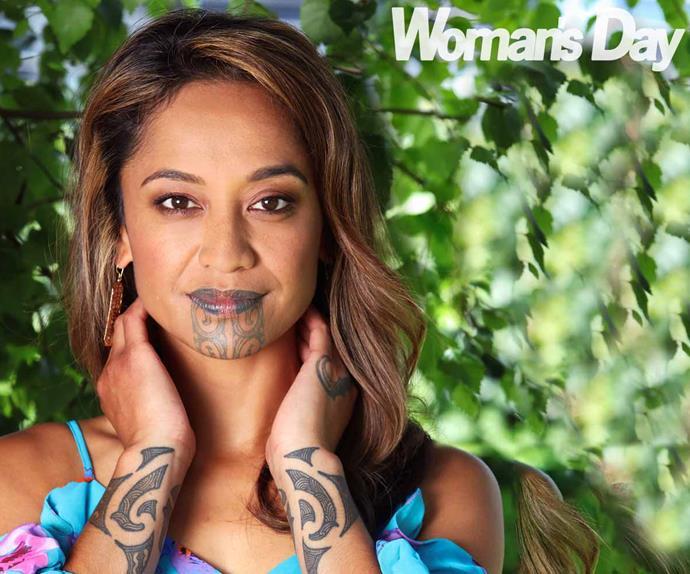 Oriini Kaipara one news presenter moko