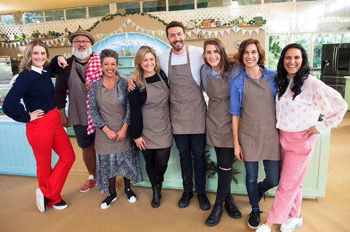 Competitive Paula says she was blown away by the talented cast of Celebrity Bake Off – especially Toni's treat!
