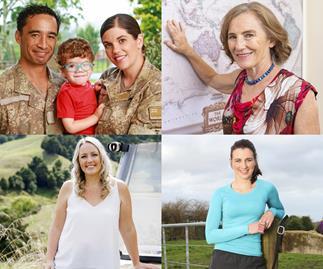 Steph Marshall, Jo Morgan, Tracey Goodall, Laura and Tane North