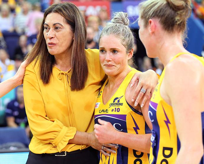 Noeline has coached the Sunshine Coast Lightning for the past three years.