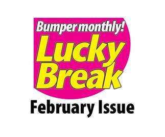 Lucky Break Bumper Monthly puzzle entry February