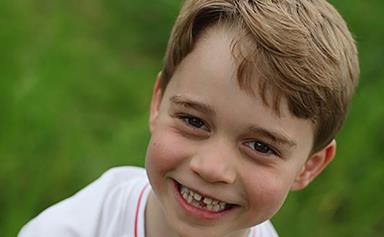 The Palace released photographs of Prince George making Christmas puddings and what a treat!