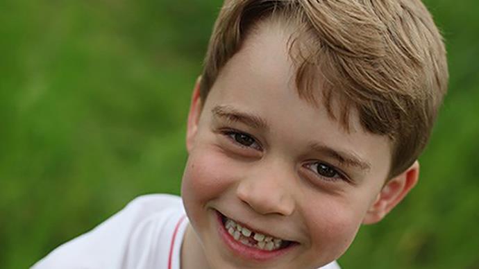 prince george smiling birthday