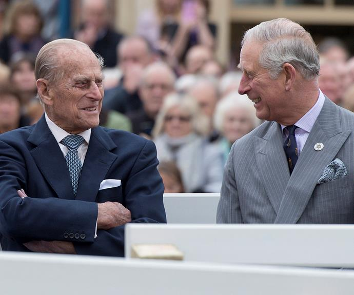 Prince Charles has said his 98-year-old father is in good hands at Edward VII Hospital in London. *(Image: Getty)*