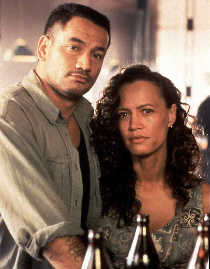 Temuera and Rena Owen in Once Were Warriors, the 1994 blockbuster produced by Robin