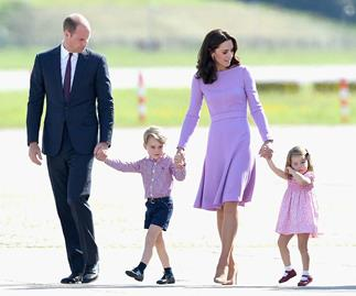The surprising song that the Cambridges wake up to every morning