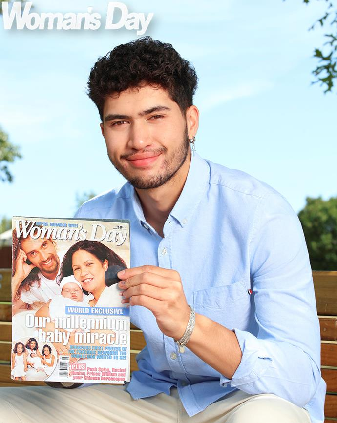 Tuatahi still has a copy of the world exclusive Woman's Day that featured him on the front cover.