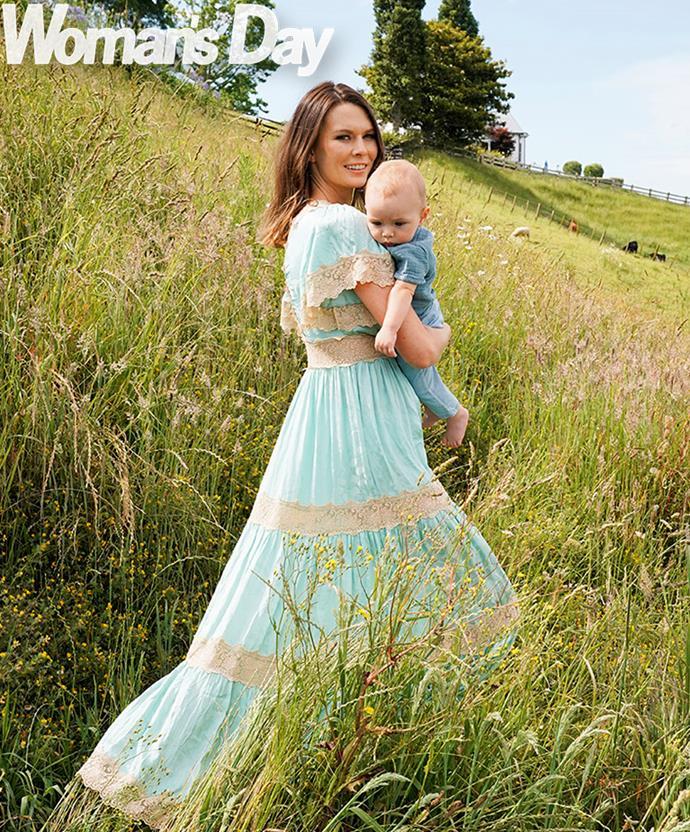 Motherhood's a walk in the park!