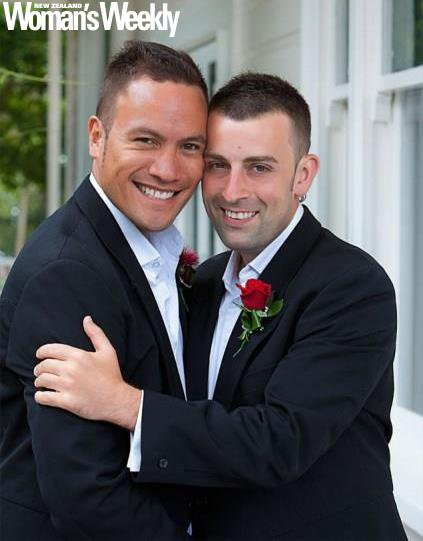 Tim and Tāmati recently celebrated the eighth anniversary of their civil union.